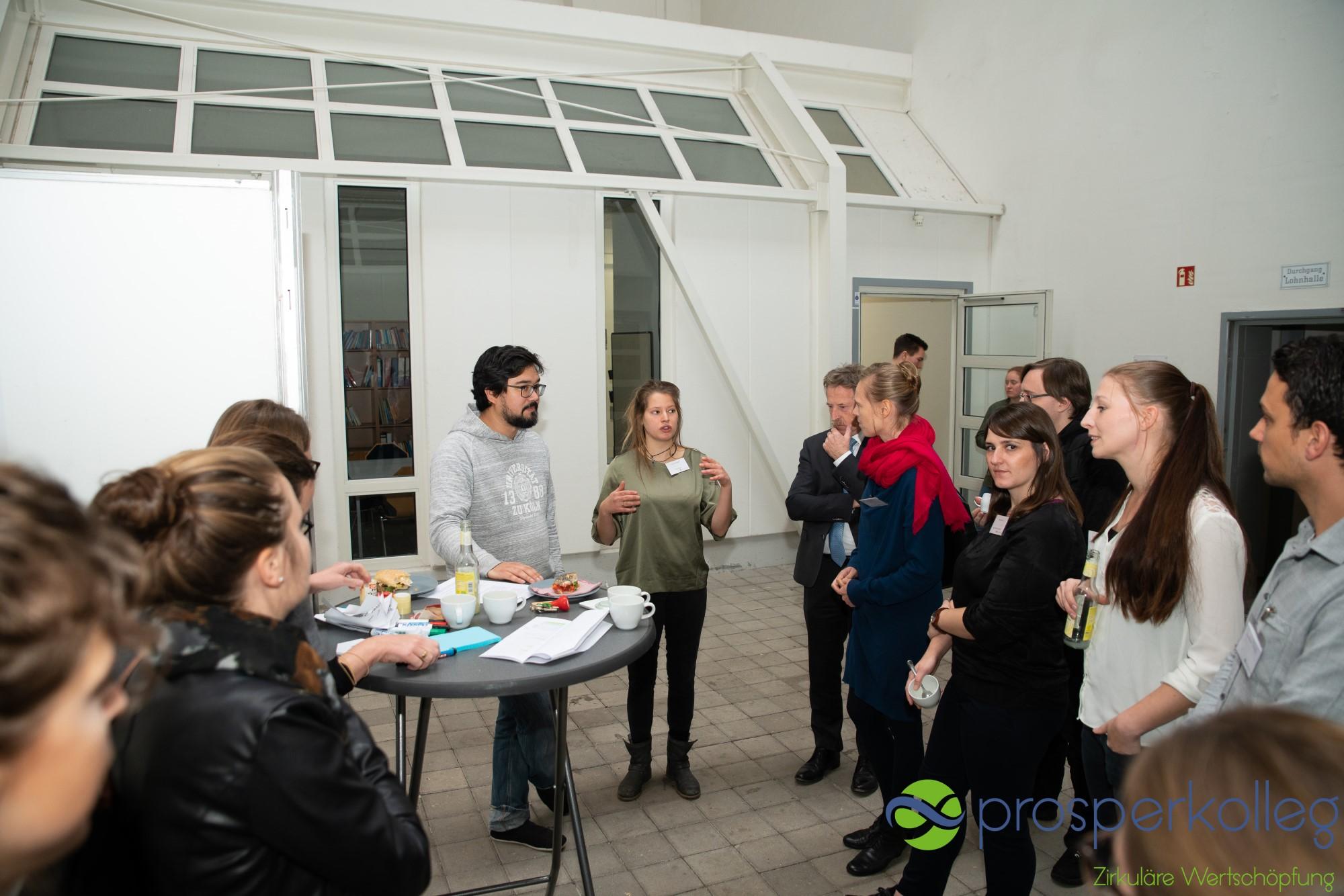 Auftaktveranstaltung Gruppenarbeit