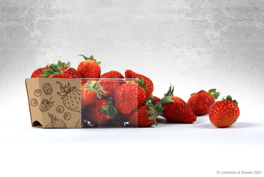 Auf dem Bild sind Erdbeeren zu sehen.